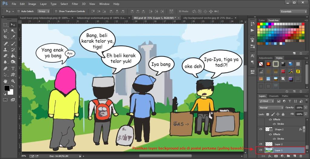hasil-komik-photoshop-teksnologi