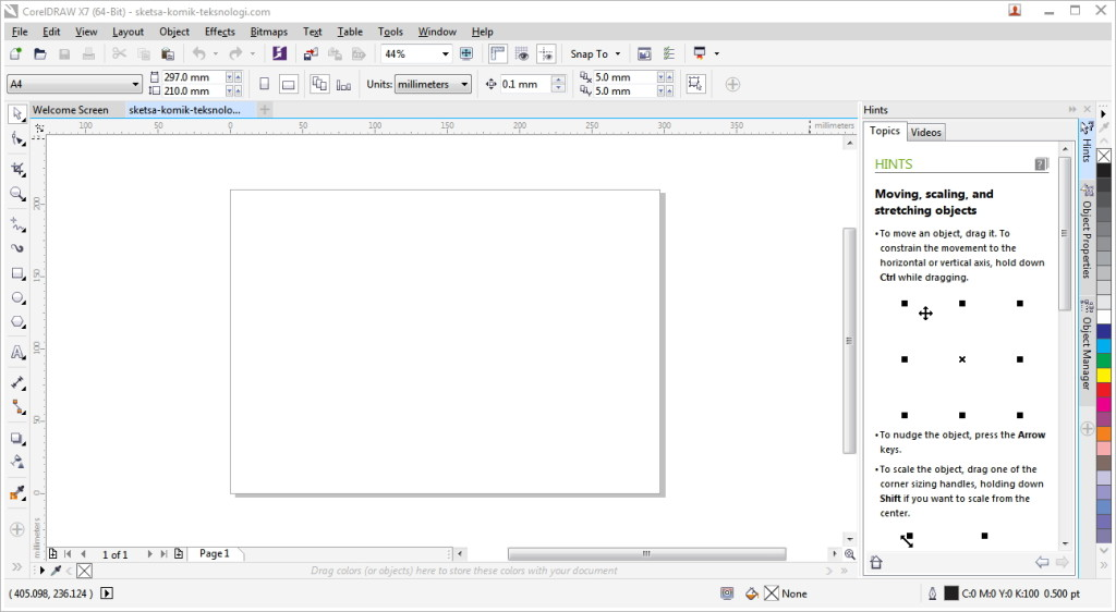 new-blank-document-coreldraw-teksnologi