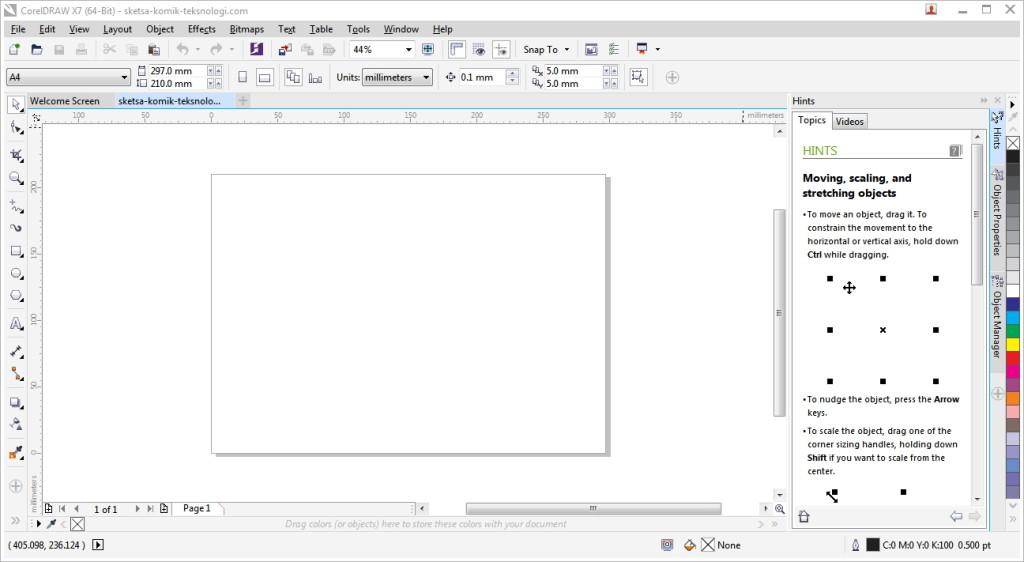 new-blank-document-coreldraw-teksnologi