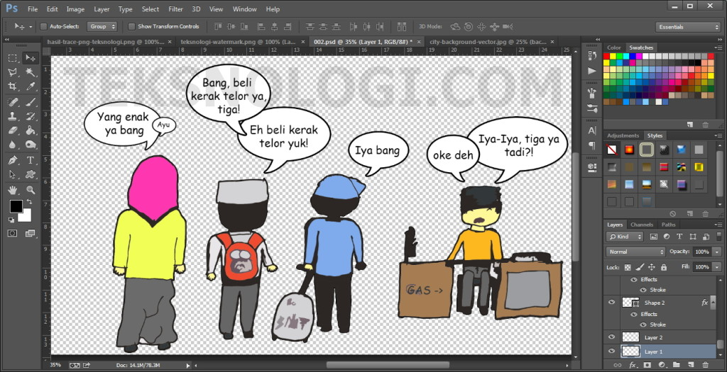 no-background-komik-photoshop-teksnologi