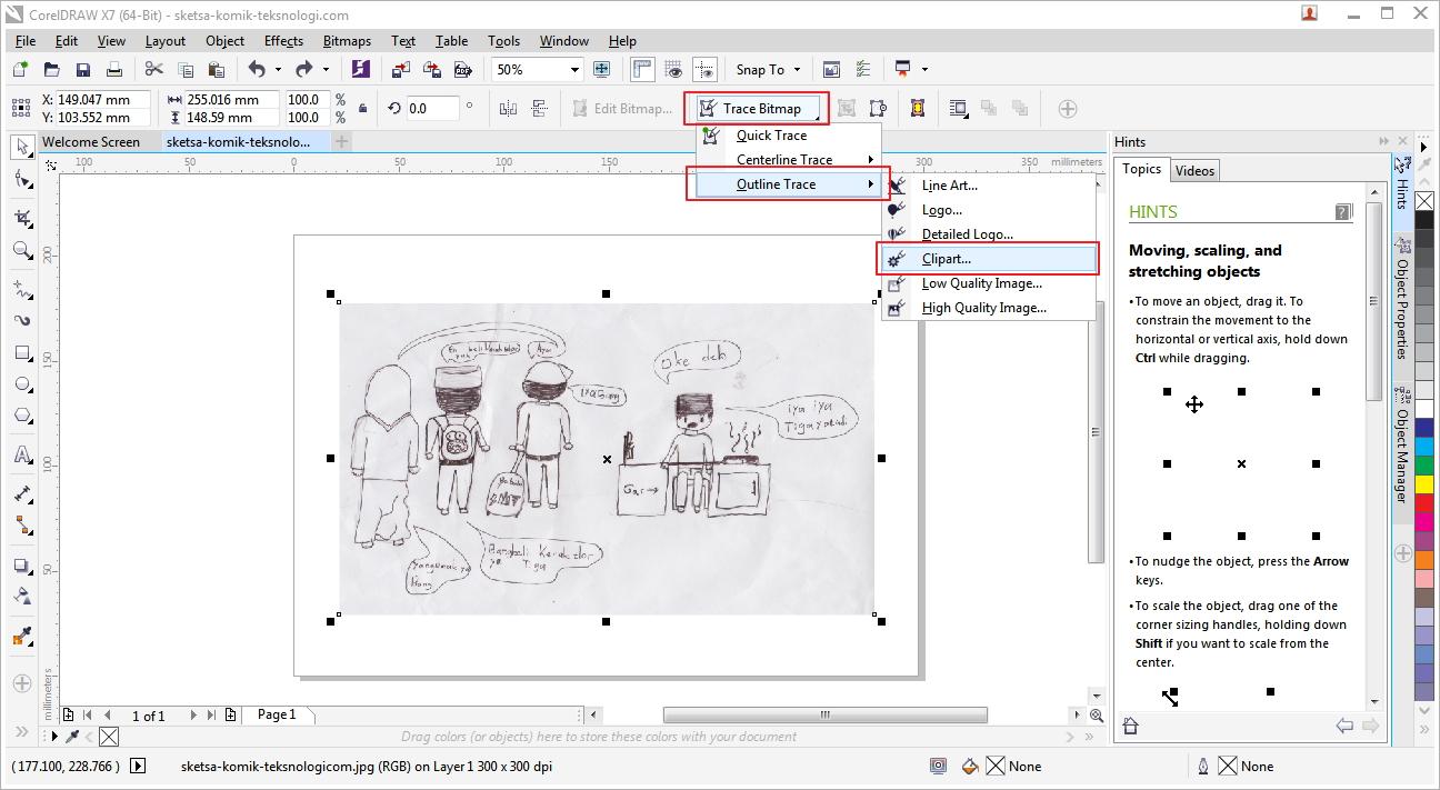 Tutorial Cara Membuat Komik dengan CorelDraw, Photoshop, & Ilustrator | Belajar kreatif