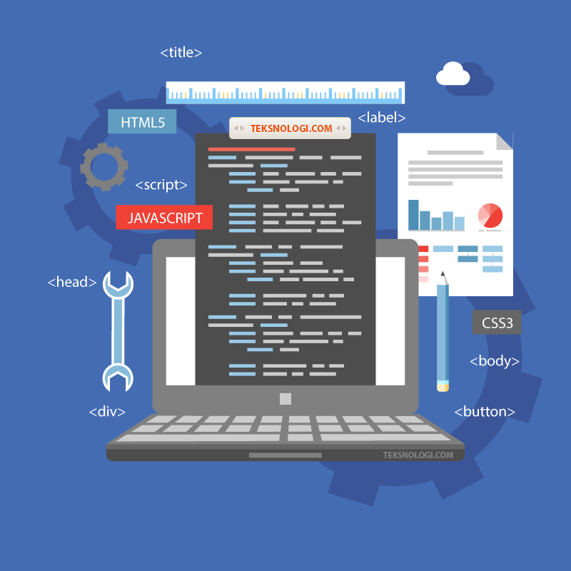 Belajar Cara Membuat Website Sendiri - Teksnologi