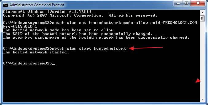 how to make a hotspot with cmd prompt