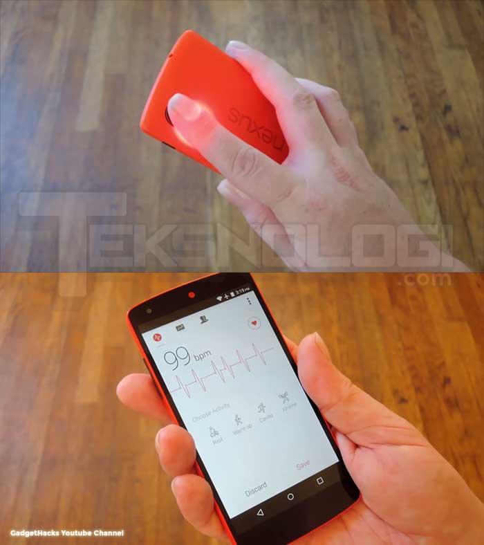Cara Mengukur Detak Jantung Dengan Aplikasi Smartphone Teksnologi