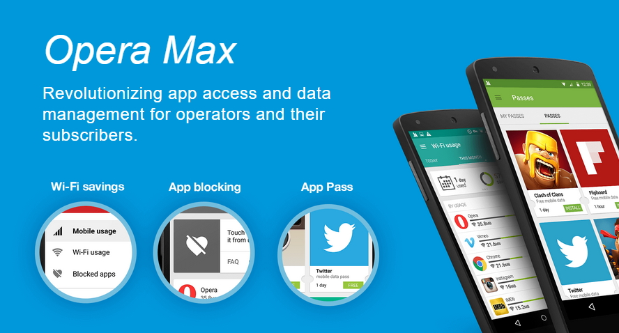 Hemat Bandwidth Internet di Android dengan Opera Max