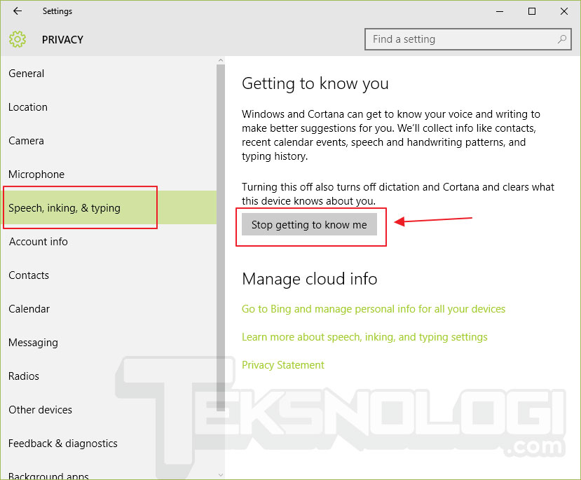 stop-getting-to-know-me-windows10