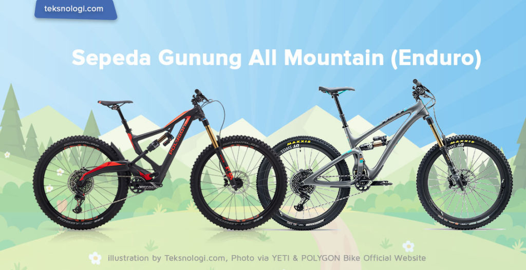 sepeda gunung mtb all mountain enduro