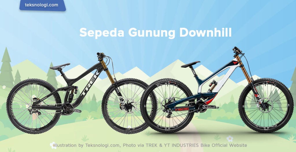 sepeda-gunung-downhill