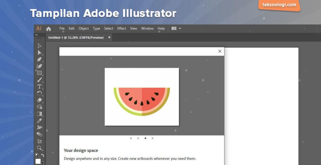 menggambar vector dengan adobe illustrator