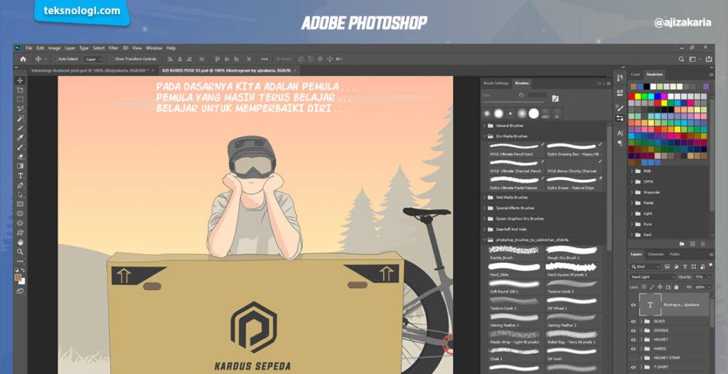 menggambar digital dengan affinity designer