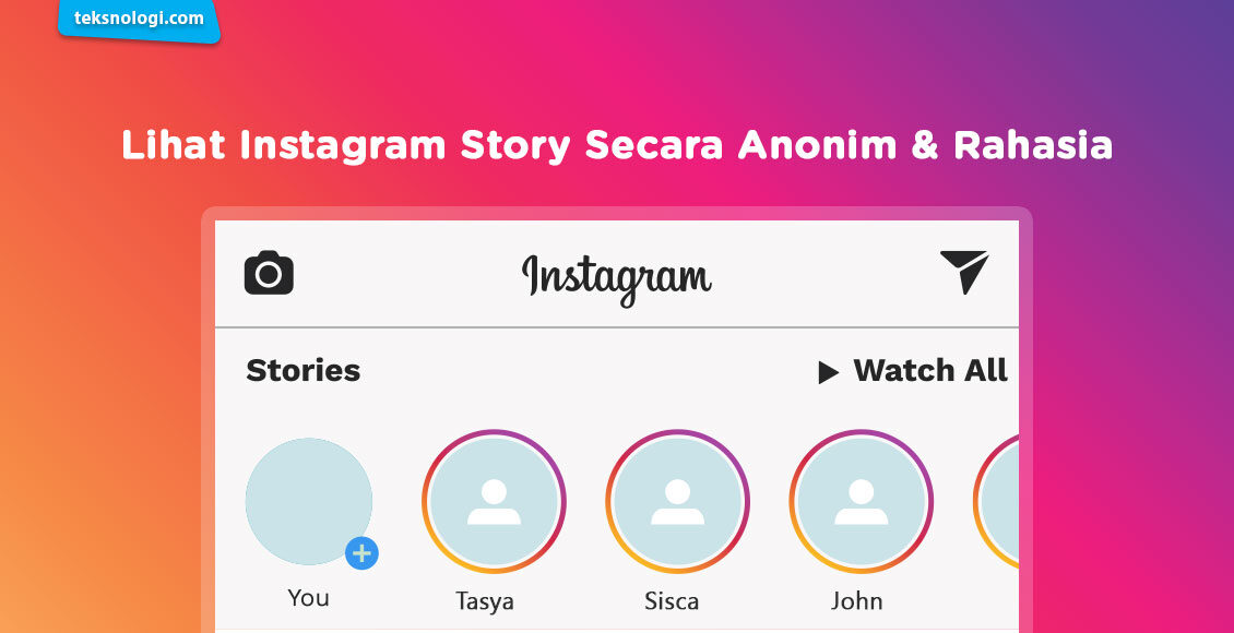 cara lihat instagram story-secara anonim tanpa ketahuan