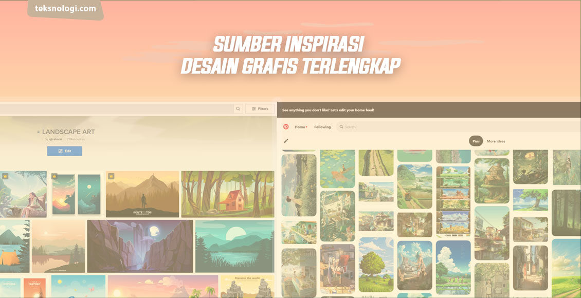 inspirasi desain grafis