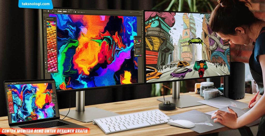 monitor untuk desainer grafis