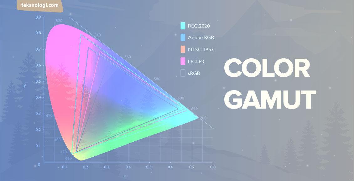 apa itu color gamut