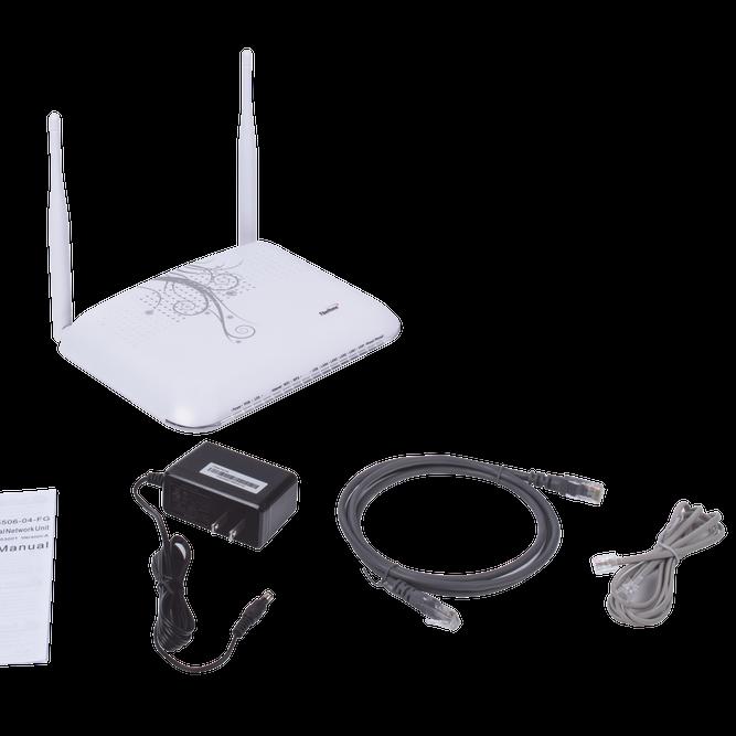 contoh modem fiber optic telkom indihome