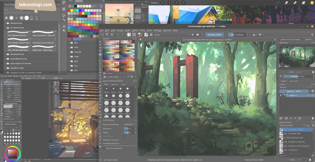 aplikasi-menggambar-digital-painting-art