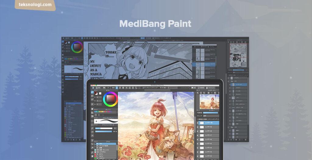menggambar digital dengan medibang paint