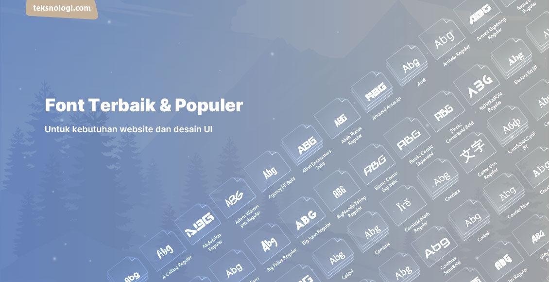 font-terbaik-untuk-desain-website