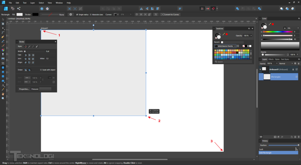 cara-membuat-shape-rectangle-tool-affinity-designer