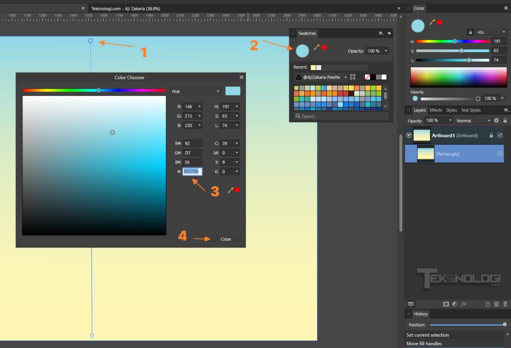 cara-mengubah-warna-gradient-fill-tool-color-affinity-designer
