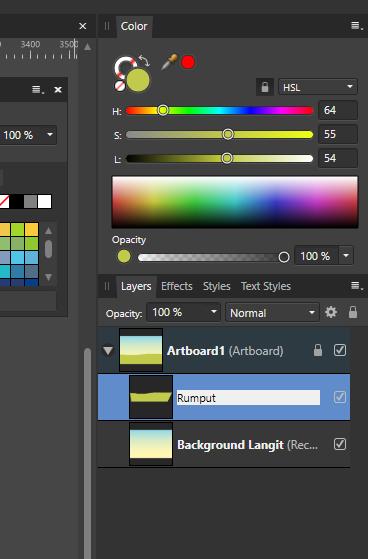 ganti nama layer affinity designer