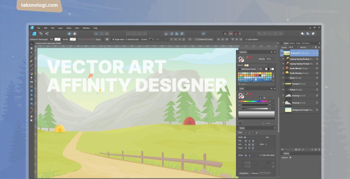 membuat-gambar-ilustrasi-vector-art-affinity-designer