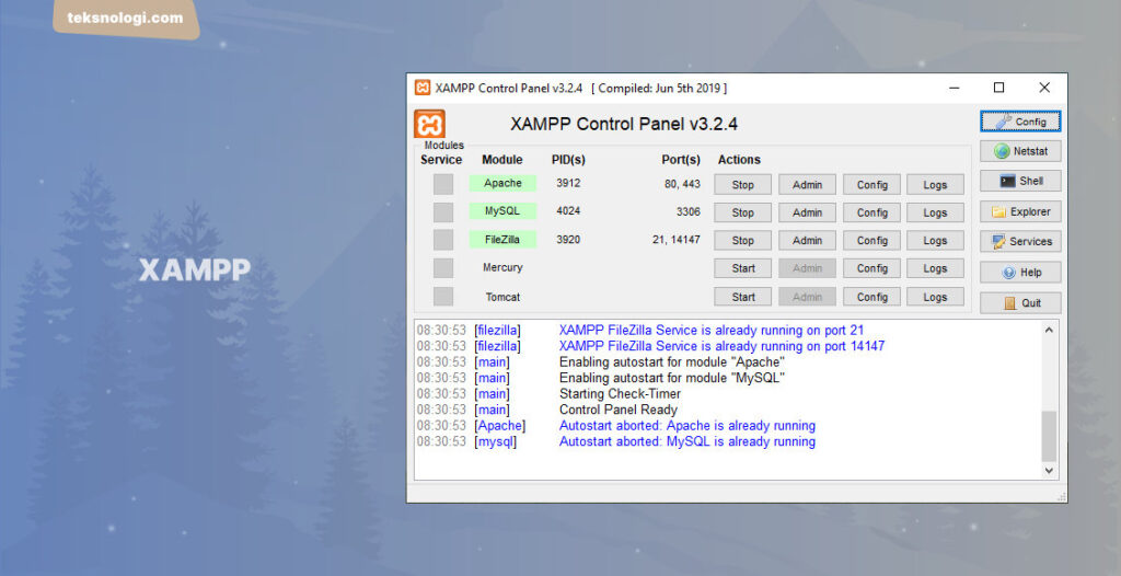 xampp-control-panel-web-server