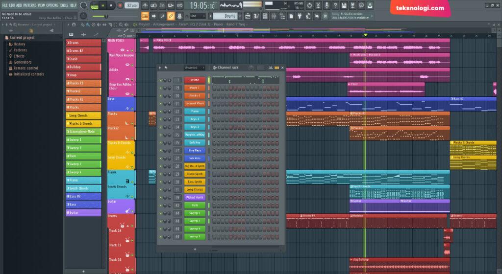 aplikasi-untuk-buat-musik-fl-studio