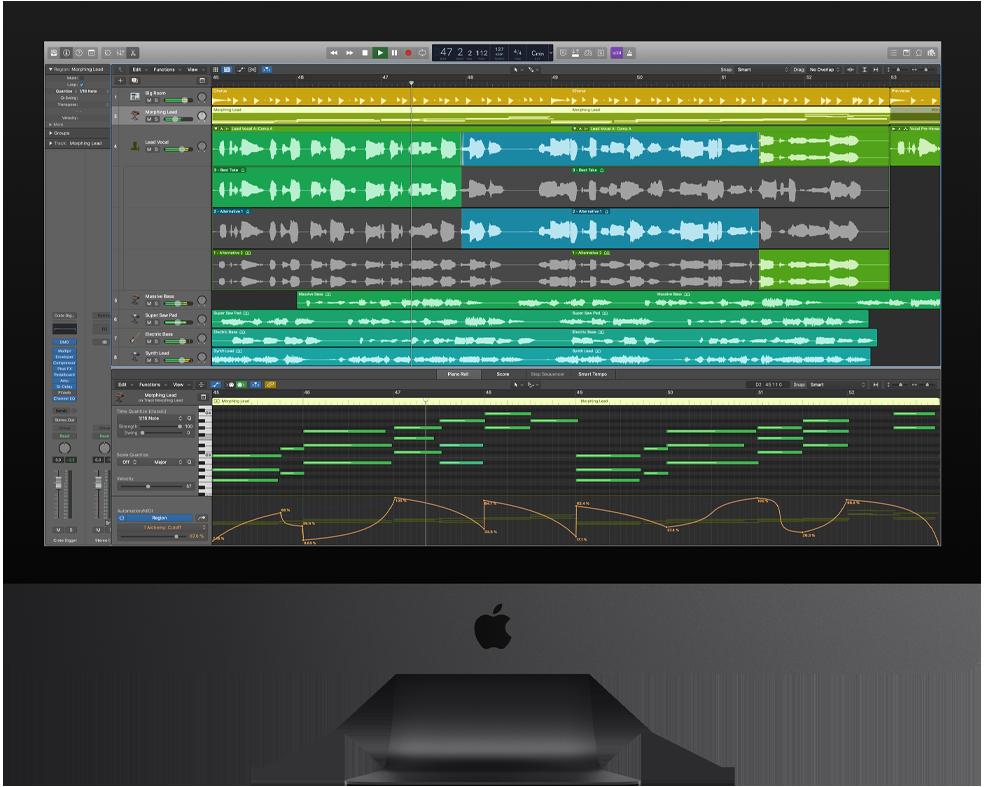 software-untuk-membuat-musik-logic-pro-apple-imac