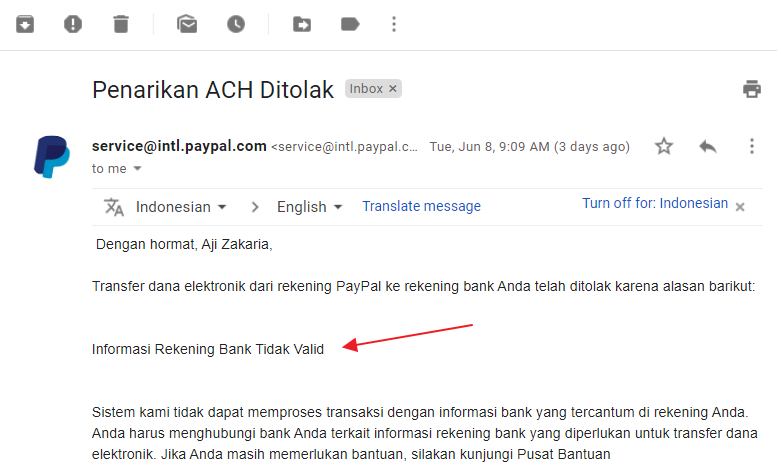 informasi-email-penarikan-uang-paypal-ditolak