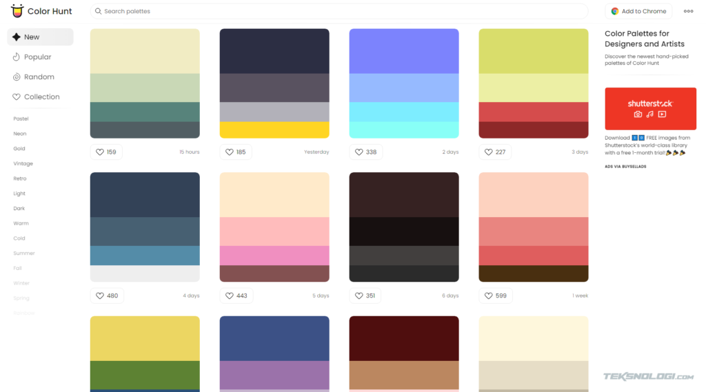 colorhunt-website-penyedia-color-palette-gradient