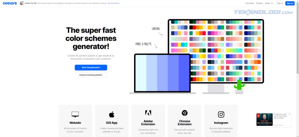 coolors-website-penyedia-color-palette-gradient